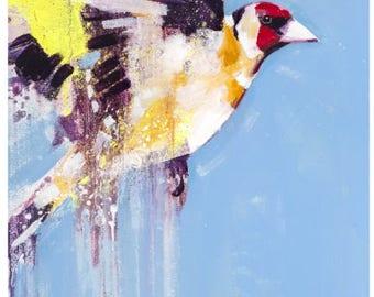 Goldfinch Blue