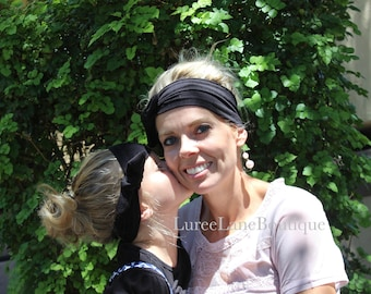Mom and me headband set/Mom and me/ Headband/ Headwrap / Mom & me headwrap set/ Mommy and me/Matching headbands/ Baby headband/Baby headwrap