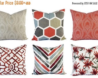 15 off sale red pillow cover red grey pillow cover red throw pillow