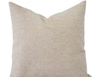 15 off sale two burlap decorative throw pillow covers solid cream pillows brown
