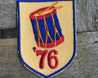Spirit of '76 Vintage Souvenir Travel Patch by Voyager