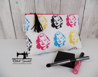 Cosmetic Bag - Blonde Bombshell - Make-up bag - Zip bag - Toiletry Bag - Ready to Ship