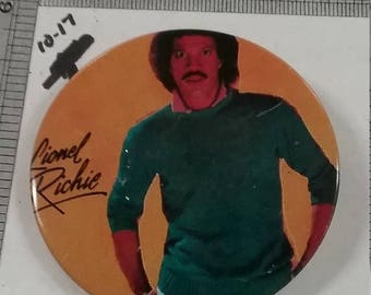 10% OFF 3 day sale Vintage used lionel richie button scratched