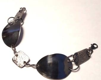 Sterling silver bracelet - sterling silver spoon bracelet - spoon bangle - silver bracelet - gift for her - birthday gift - vintage spoon