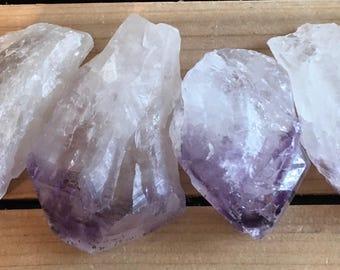 Amethyst Chunky Points, Natural Points, Spiritual Stone, Healing Stone, Healing Crystal, Chakra