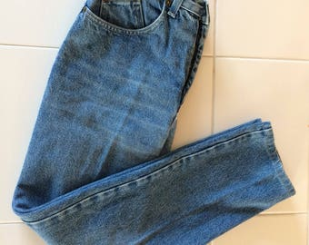Christopher J high waisted vintage jeans 1980