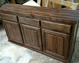 Customizable Walnut Buffet