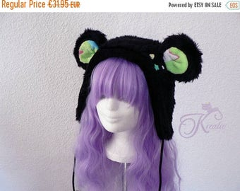 SALE Teddy hat (green)