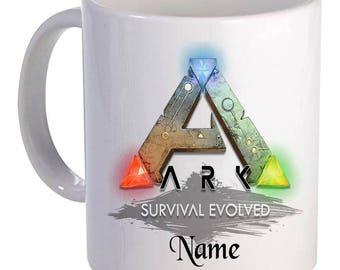 Personalised Mug - Ark Evolved - Name - Style 4