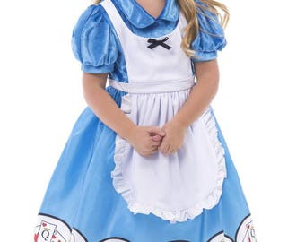 Alice in Wonderland dress up costume