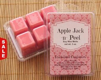 Sale -  Apple Jack N Peel Soy Wax Melts - Handmade Soy Wax Melts