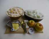 New 12th scale traditional apple crumble boards
