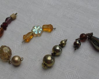 Lot Of Salvaged Beaded Dangles