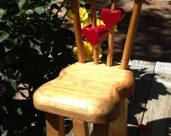 Miniture wooden chair