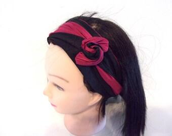 Rigid long headband