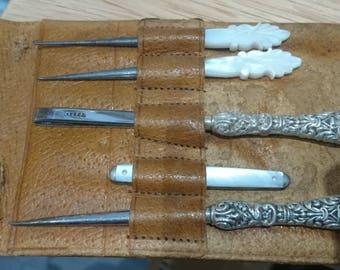 Vintage manicure tools