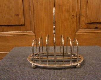 Early 20th century Silver Plate Toast Rack - Antique