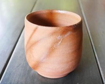Japanese Bizen Yunomi Tea Cup