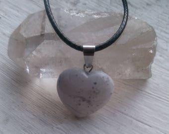 Howlite Heart Necklace
