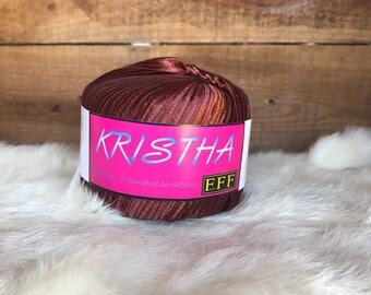 Krishta wide ribbon yarn