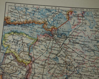 Map of odessa Etsy