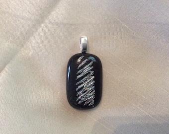 Beautiful fused glass pendant
