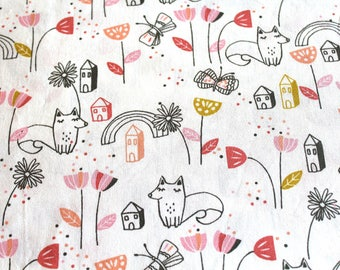 Fabric coupon 50 x 70 cm print child