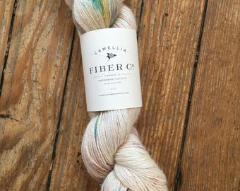 Camellia Fiber Company Flax in Rainbow Sprinkles