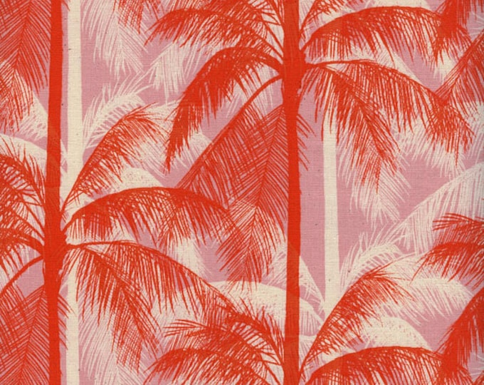 PRESALE: Palms - Pink from Poolside by Melody & Alexia for Cotton + Steel