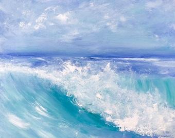 Seascape Original Oil Painting