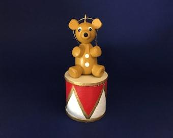 Gingerbread Bear Christmas ornament