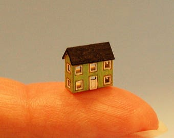 1/144th inch scale miniature-Dollhouse for your 1/144th Dollhouse