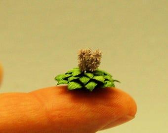 1/4 inch scale miniature-Hosta Plant