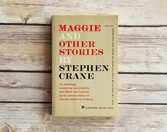 Maggie And Other Stories Stephen Crane New York Slums Naturalism American Fiction Novelette Short Stories Social Hypocrisy Classic Novel