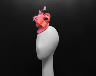 FLAMINGO (Fascinator/ Headpiece)