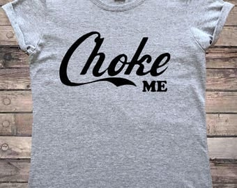 Choke Me Pastel Goth Ladies T-Shirt