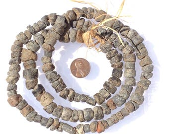Old African stone Beads from Mali