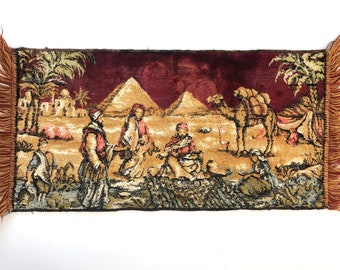 Vintage Tapestry | Middle Eastern Rug/Wall Hanging | Vintage Home/Wall Decor