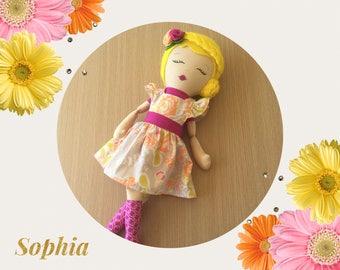 Rainbow Dress Up Doll- Sophia