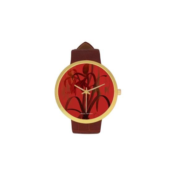 Botanical amaryllis Christmas flower watch
