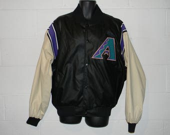 Vintage 90s Majestic Arizona Diamondbacks Jacket Large
