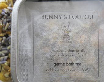 gentle bath tea