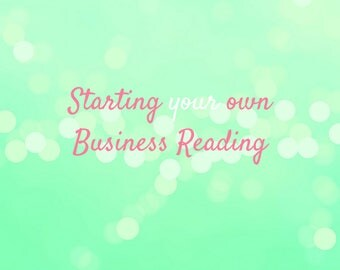 Start your own Business Reading