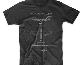 RC-1 Airplane Concept Patent T Shirt, Aviation Shirt, Pilot Gift, Airplane Shirt, PP0749