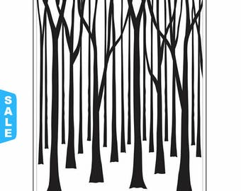 Darice® Embossing Folder - Tree Trunks 4.25 x 5.75, scrapbooking card making greeting cards invitations and more
