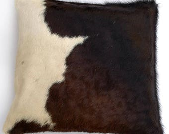 Natural Cowhide Luxurious Hair On Cushion/ Pillow Cover (15''x 15'') A36
