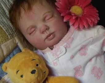 Rose Reborn XMAS ORDER Custom Doll Donna RuBert Little Darlins Nursery Rita Meese artist