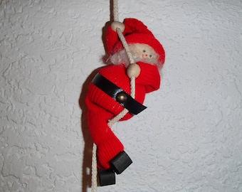 Scandinavian Swedish Gnome Tomte Climber Ornament #11-602