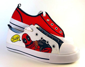Deadpool wants you to buy these shoes