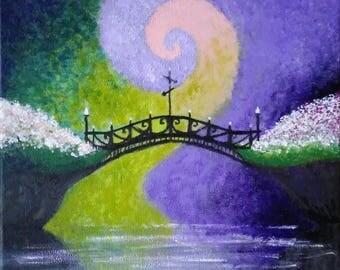 Bridge between worlds - print